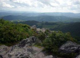 Pinnacle overlook at Grayson Highlands