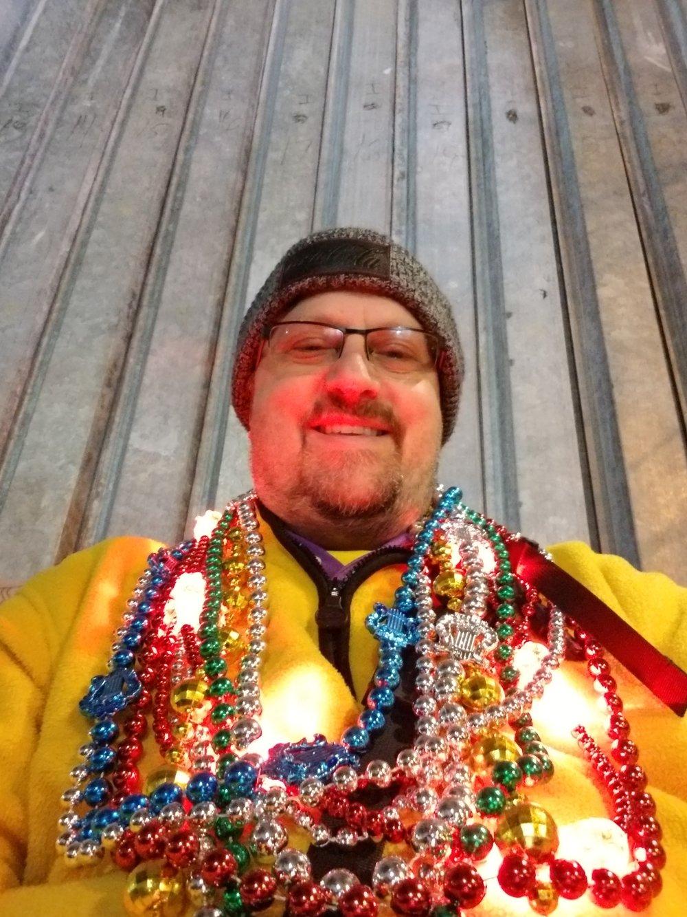 Beads New Orleans Mardi Gras