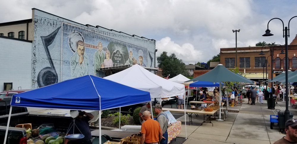 The Farmer's Market on State Street in Bristol