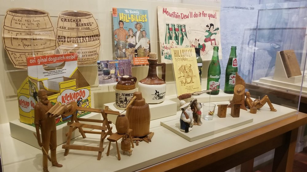 Hillbilly Exhibit at the ETHC