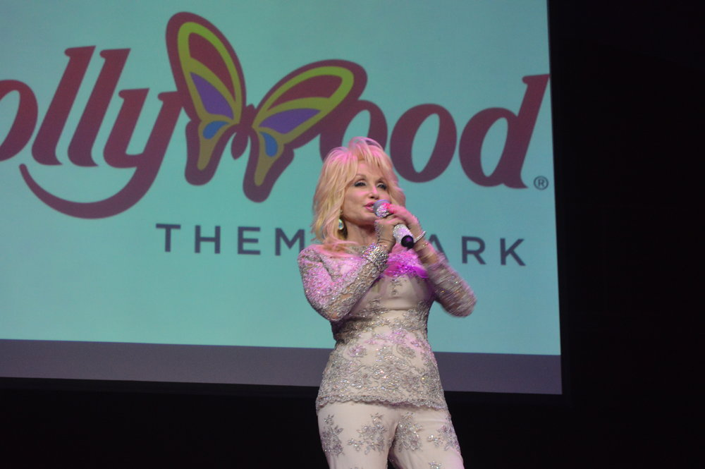Dolly Parton at Dollywood