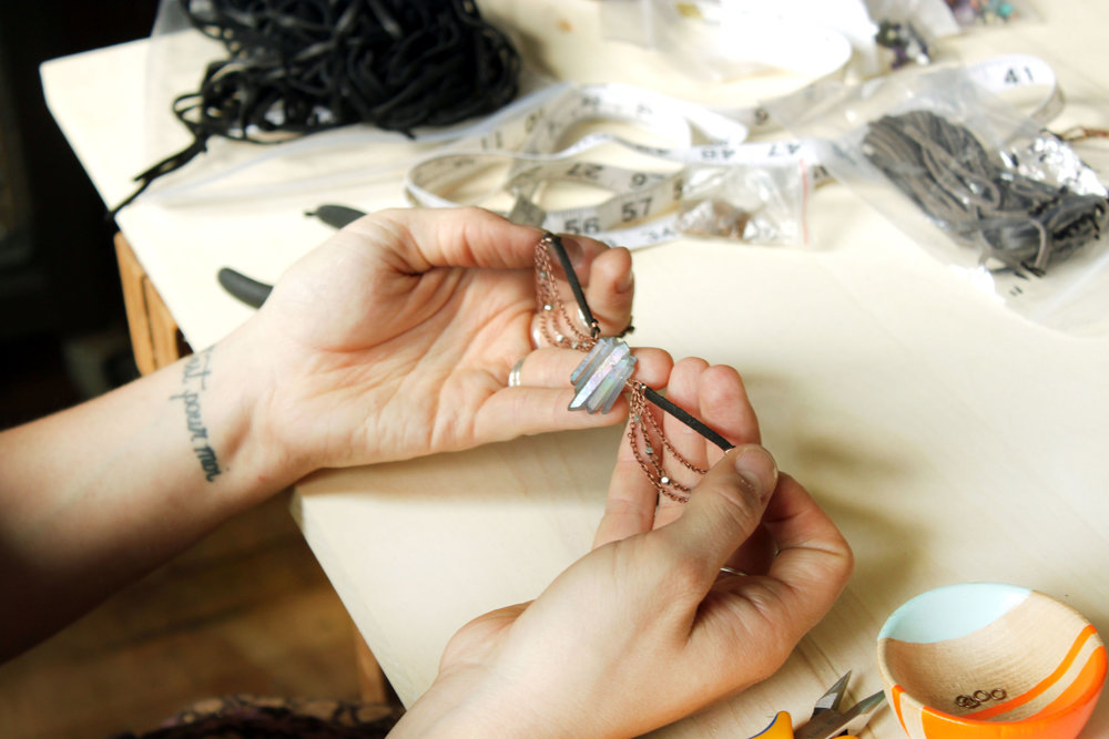 Modern jewelry for intentional living. - always handcrafted.