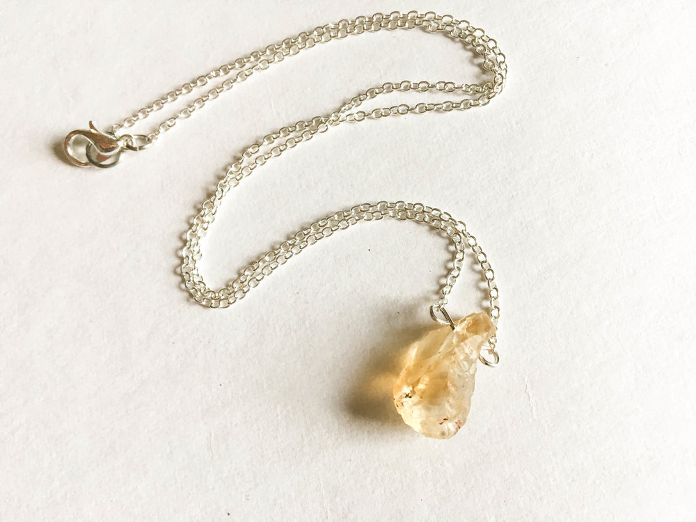 ☽ CITRINE ☾ - carries the power of the sun ☼ it's a powerful cleanser and regenerator. Warming, energizing, and highly creative. Citrine grounds negativity and opens the intuition. As a stone of abundance, it teaches you how to manifest and attract wealth, success, and prosperity.