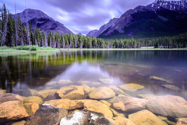 @Spray Lakes-Canmore (图片来自网络)