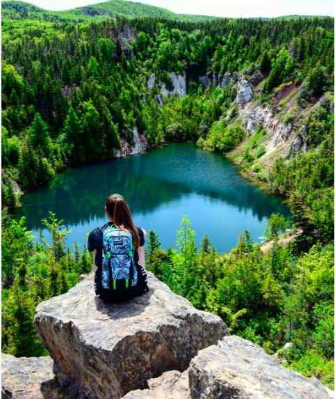 @Gypsum Lake, NS (图片来自网络)