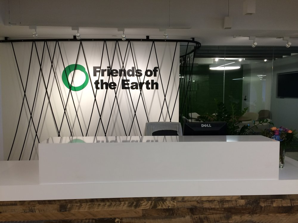 The Friends of the Earth office in Washington DC.