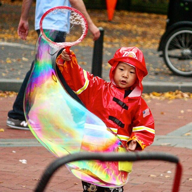 Someone's ready for Halloween #FDNY #centralparkmoments #NYC #iloveny #instagramnyc #seeyourcity