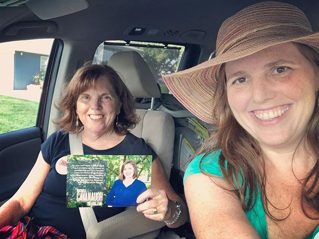 Thanks to @katecavanaugh for coming out with me for another beautiful day talking with the voters. Increasing investment in public education and behavioral health services was on the top of voters minds.