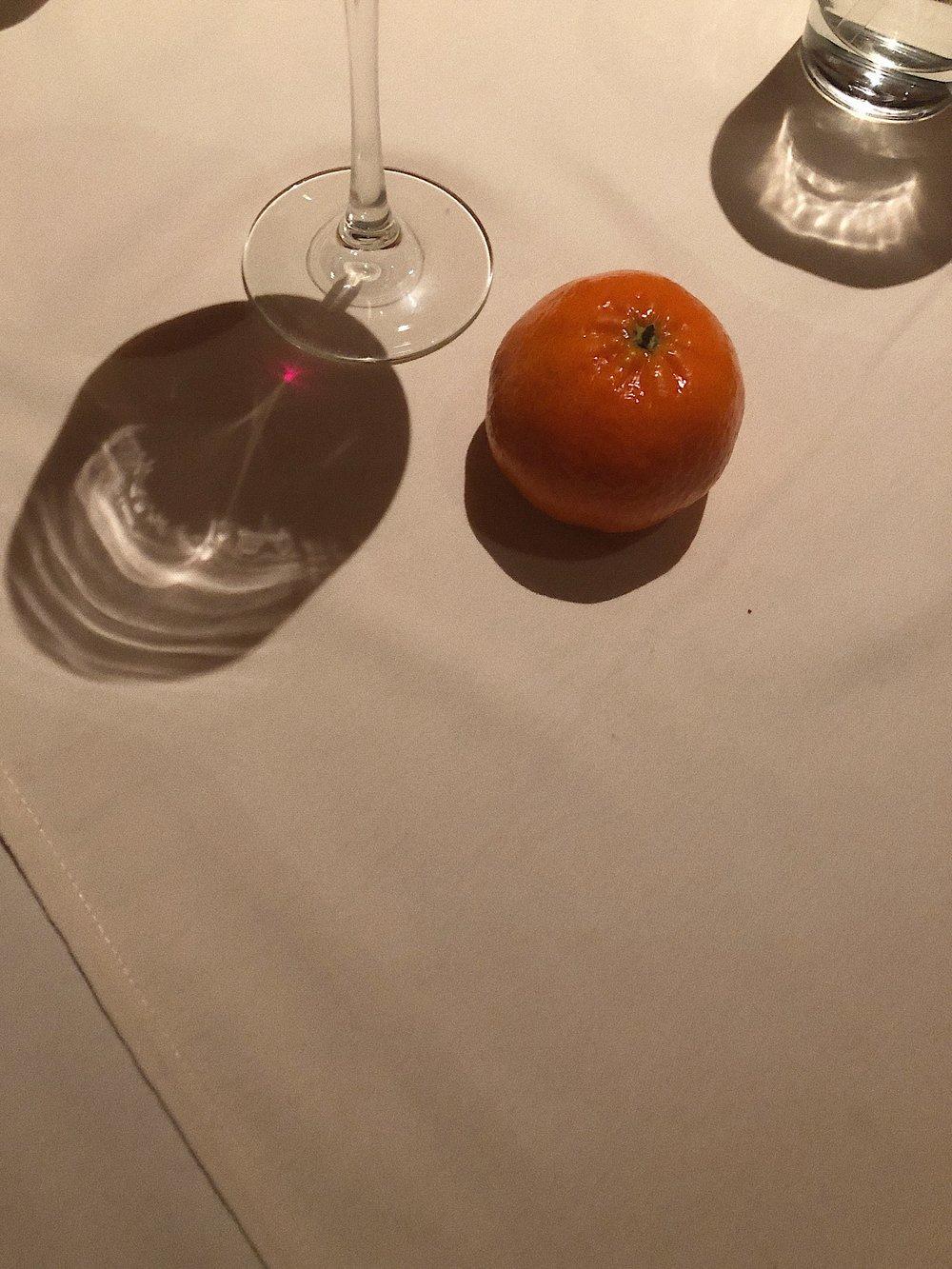 Mandarins represent fullness and wealth