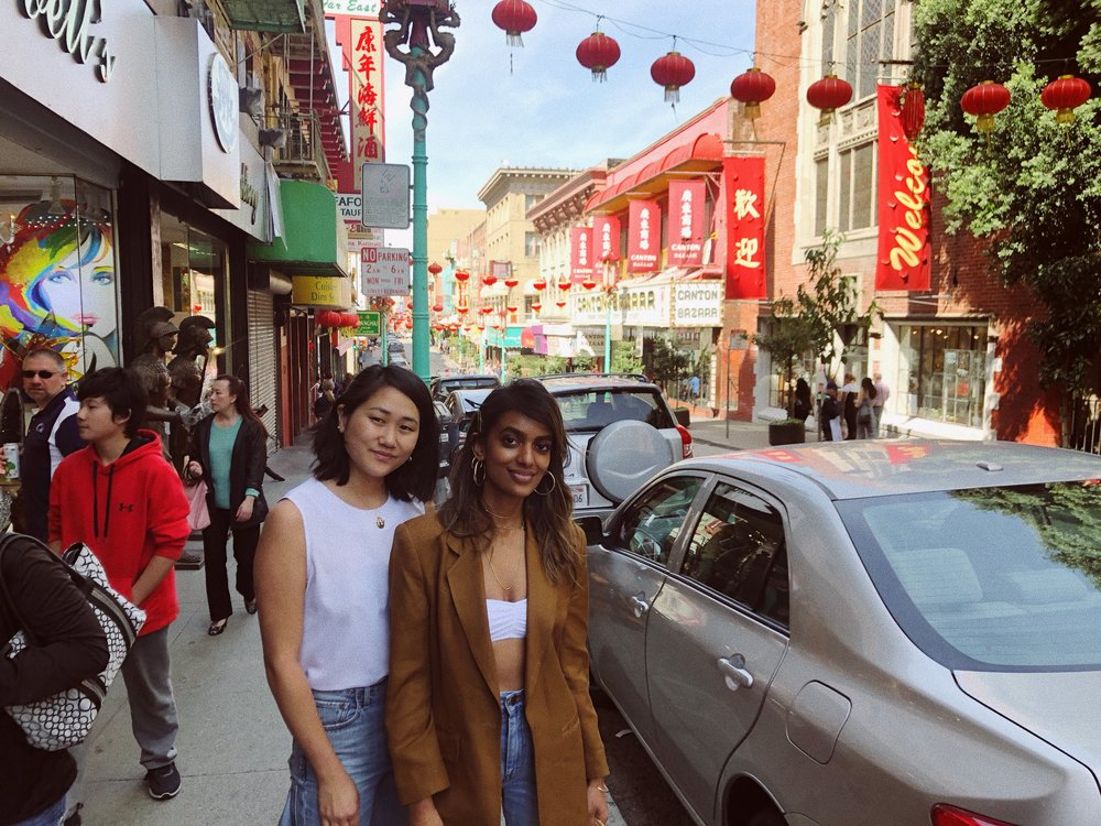 Our first time in Chinatown SF. As always, we started our trip over delicious food and Stella purchased 3 more teapots during this trip.
