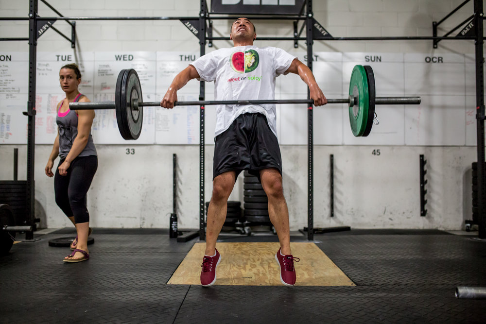 - In team of two26 Minute AMRAPAlternating Rounds of:1 Snatch (135/95)1 Clean and Jerk (135/95)5 Pull Up*Upscale Option 5 Chest to Bar Pull Up*