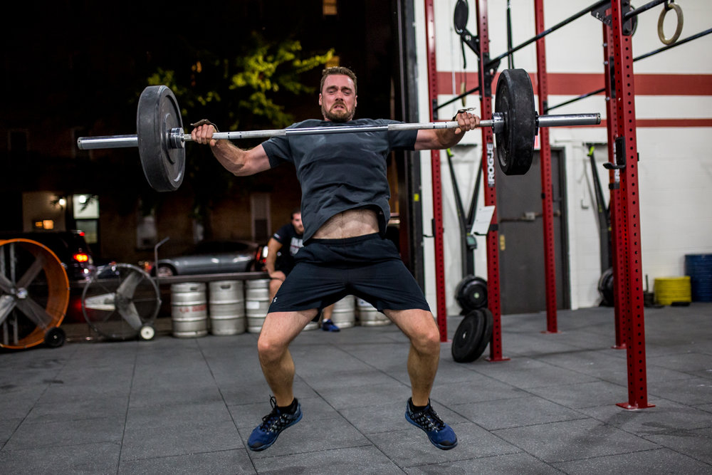 - Skill Review:  Squat Snatch--------------------Every Minute on the Minute for 30 Minutes1 Squat Snatch + 1 Overhead Snatch* increase weight only after completing 5 Rounds with no misses (a max of 5 jumps in weight is a perfect score)