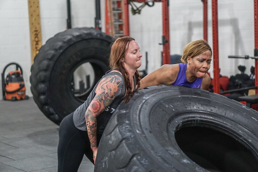 - In Teams of Two; complete50 Burpee100 Axle Shoulder to Overhead150 Sit Up200 Box Jump (24/20)* bar starts from ground use a weight you can comfortably move 5-10 reps