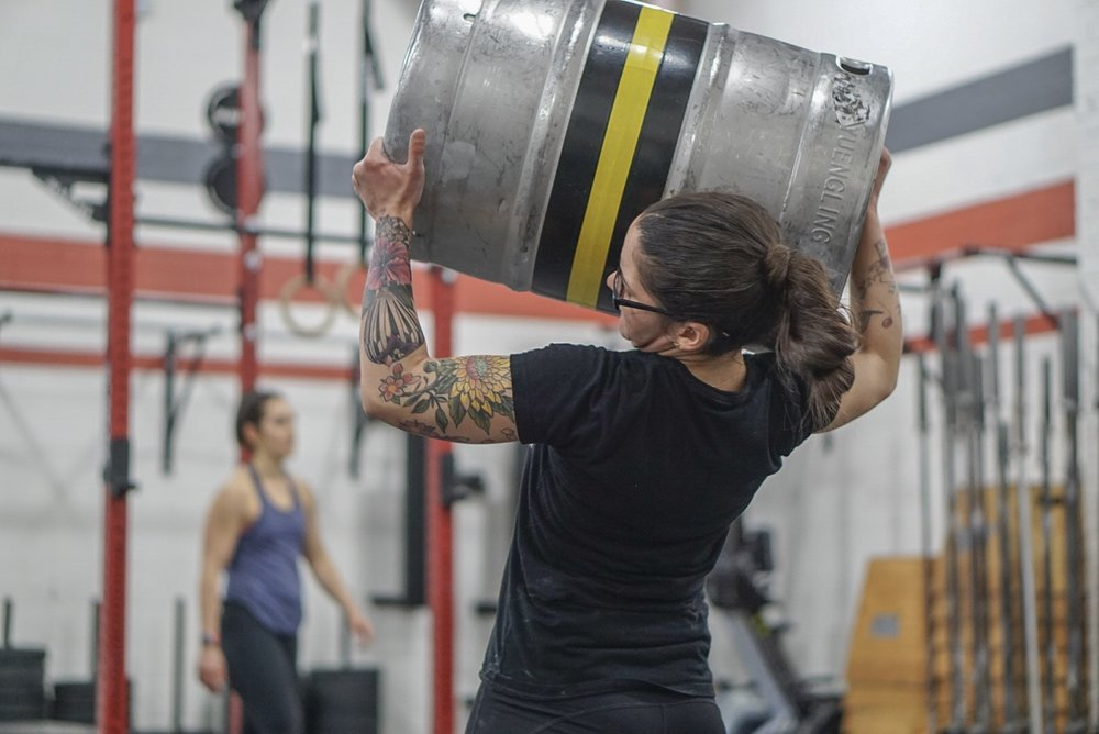 - 15 Minutes to Establish1RM Stone Load--------------------Every 2 Minutes for 24 Minutes1 Stone Load50' Walking Lunges12 Dumbbell Snatch (50/35)Reminder: Tonight is our Annual Holiday Tardy Party at 7PM. All are welcome to join for food and drink!