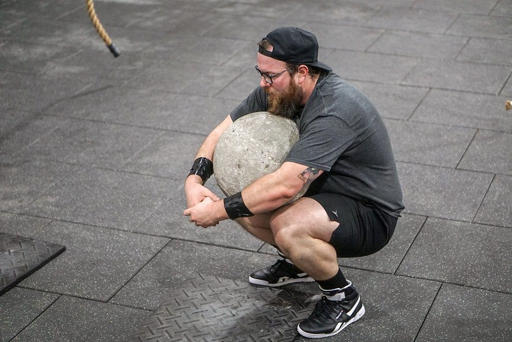 - 5 Rounds40 seconds on:20 second off:Sledgehammer Swings--------------------5 Rounds for Time5 Bench Press (AHAP)2 Tire Flip (AHAP)