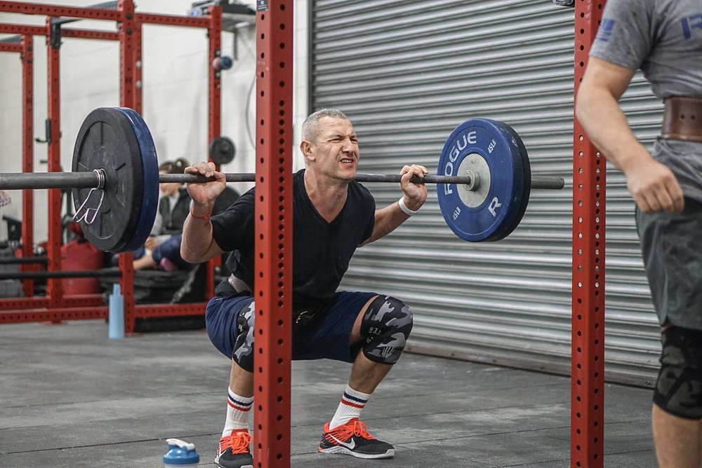 - Skill and Drill: Handstand Push-Up--------------------CrossFit Open 16.4/17.4In 13 Minutes Complete as Many Rounds as Possible;55 Deadlift (225/155)55 Wallball Shot (20/14)55 Calorie Row55 Handstand Push-Up