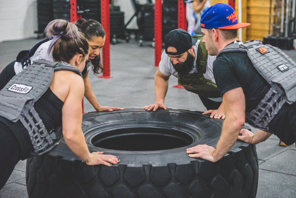 - Community Day: CrossFit Hero WOD------------------Join us the Second Sunday of Each Month for Community Day!