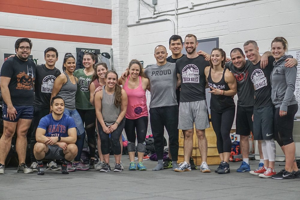 - 5 Rounds for Time5 Bench Press2 15' Rope Climb15 Russian Kettlebell Swing (70/53)