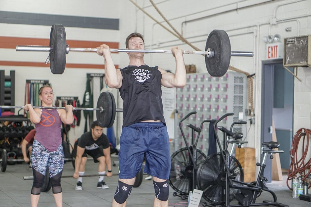 - Chipper For Time:15 Toes to Bar25 Box Jump Over (24/20)50 Overhead Single Arm Alternating Dumbbell Lunge (25R/25L) (50/35)75 Wallball Shot (20/14)100 Alternating Dumbbell Snatch (50/35)200 Meter Run