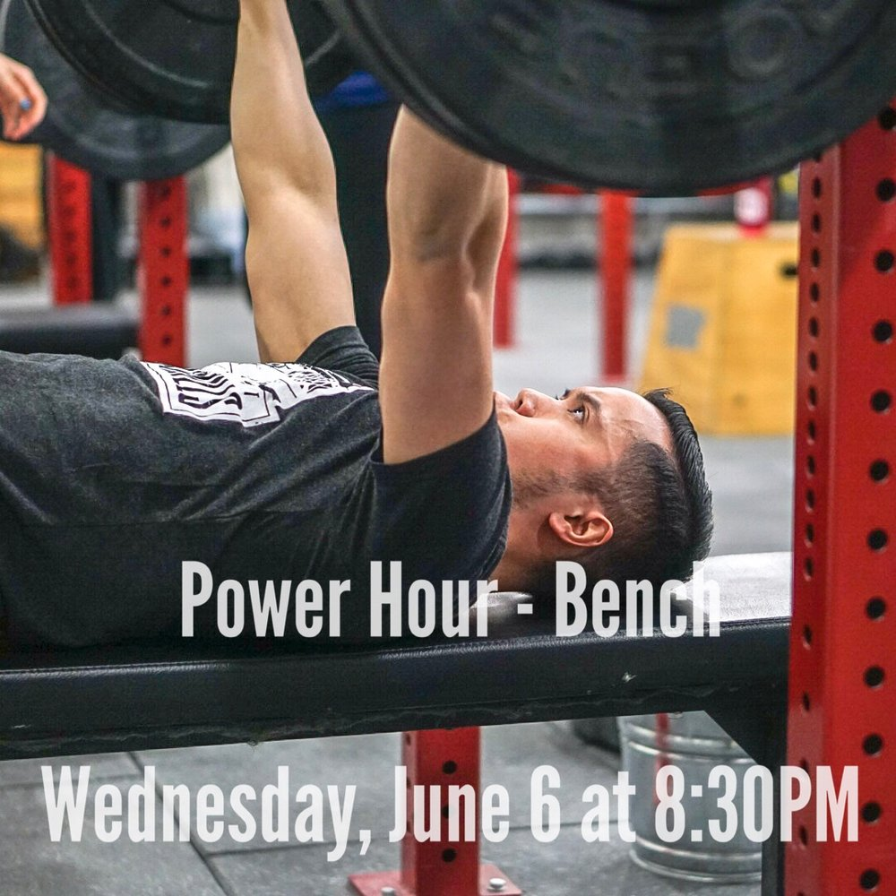 - Every 3 Minutes for 30 Minutes50' Farmer Carry (AHAP/Unbroken)5-10 Pull-up*Pick a number of Pull-up you can maintain for all 10 Rounds and that results as close to a 1:2 work rest ratioAnnouncements:- Wednesday, June 6 @ 8:30PM - Power Hour- Friday, June 8 @ 7:30PM - SquadWod- Sunday, June 10 @ 10AM - Community Day