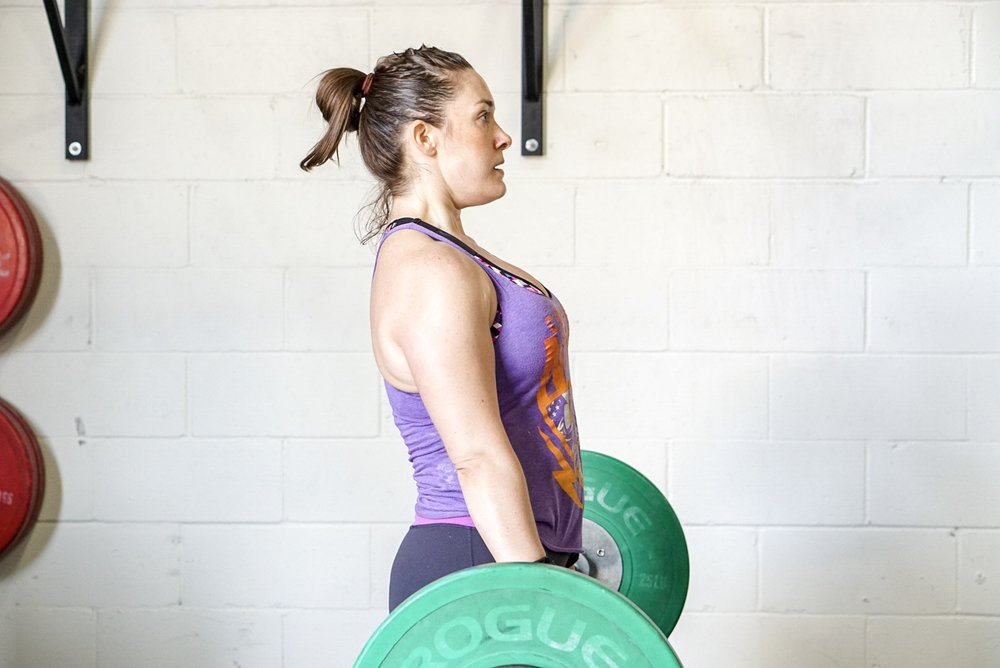 - 20 Minute AMRAP1 Back Squat (AHAP 90-95% 1RM)2 Strict Muscle Up6 Burpee