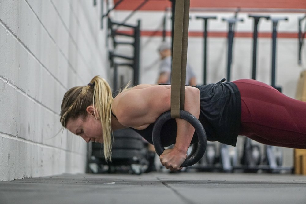 - 10 Rounds For Time1 Tire Flip (3x+ Bodyweight)2 Front Squat (AHAP/UB)12 Russian Kettlebell Swing (70/53)Announcement:Gymnastic Specialty Class Meets tonight at 8:30PM! Sign-up to work on your Bar Muscle Ups.  All Levels Encouraged.