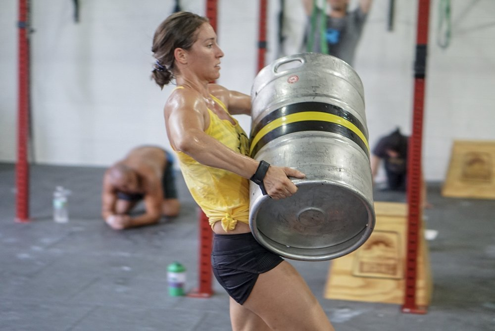 - Every 3 Minutes For 24 Minutes2 Tire Flip (3x+bw)15 Wallball Shots (20/14)75 Meter Sprint