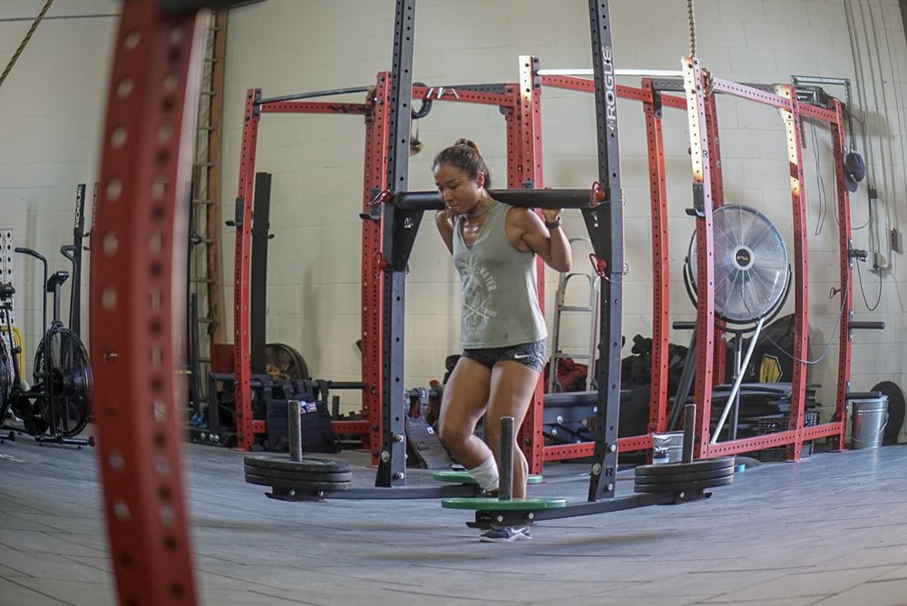 - 3 Rounds For Time25 Axle Deadlift (185/135)25 Wallball (20/14)50 Double Under