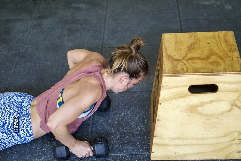 - 30 Rounds1 Power Clean1 Front Squat1 Jerk1 Burpee*recommended weight 155/115**no squat clean**no thruster