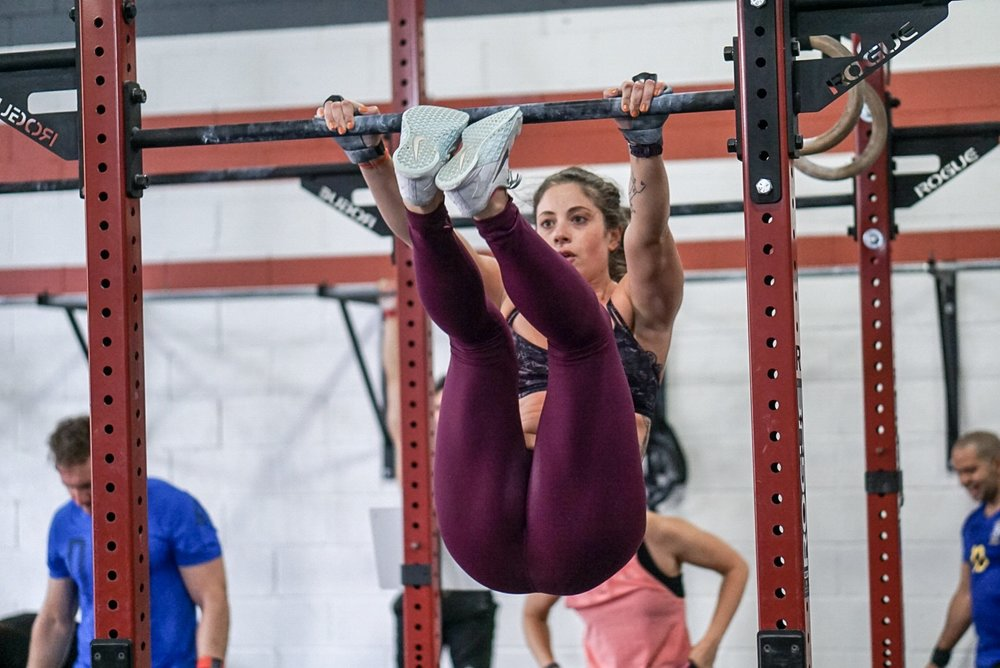 - Every Minute on the Minute for 35 Minutes1 Hang Clean and Jerk (AHAP)3 Burpee
