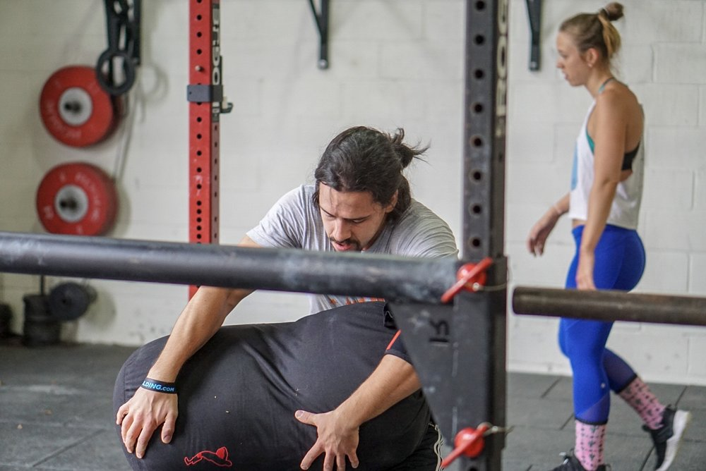 - Every Minute on the Minute for 30 Minute2 Handstand Push-up1 Stone to Shoulder (AHAP)*city strongman only athletes may replace handstand push-up with 2 strict press