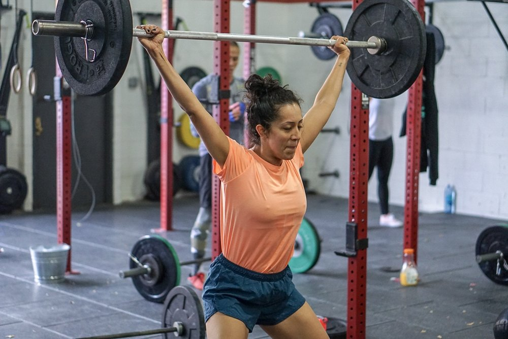 - In teams of 2;28 Minute AMRAP5 Clean and Jerk10 Alternating Front Rack Lunges*Partner A completes full complex while Partner B rest, then switch