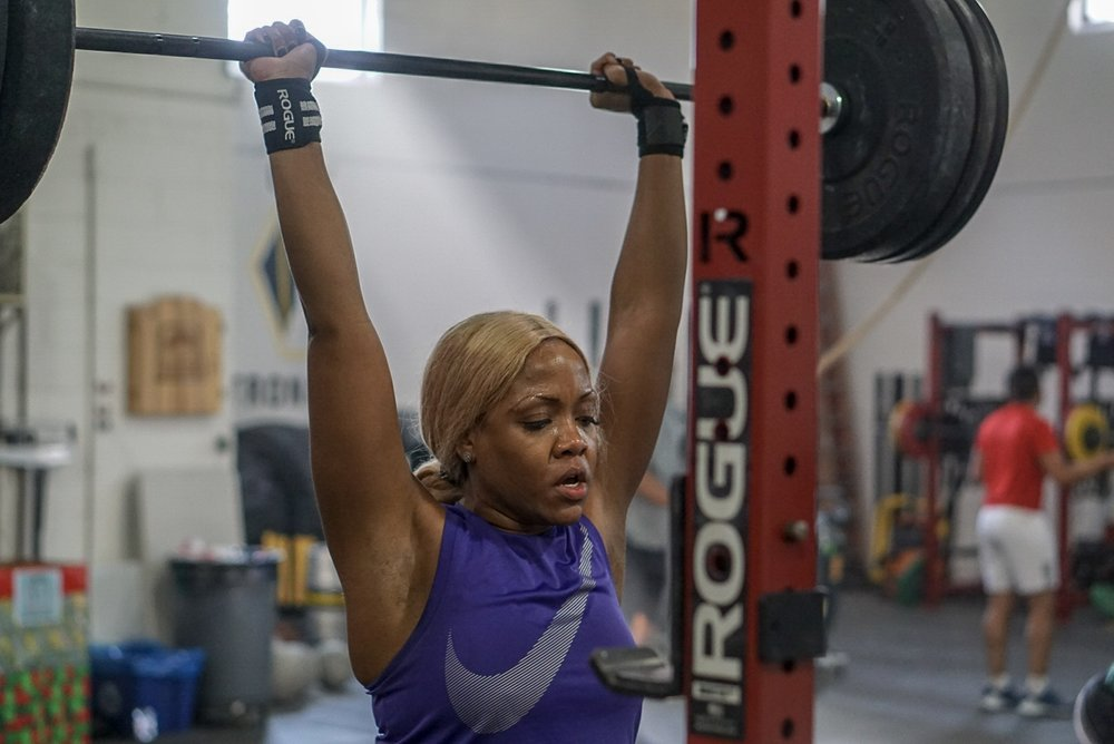 - Using one barbell and one weight, complete for time;30 Rounds1 Snatch1 Clean and Jerk*Compare to June 15 2018