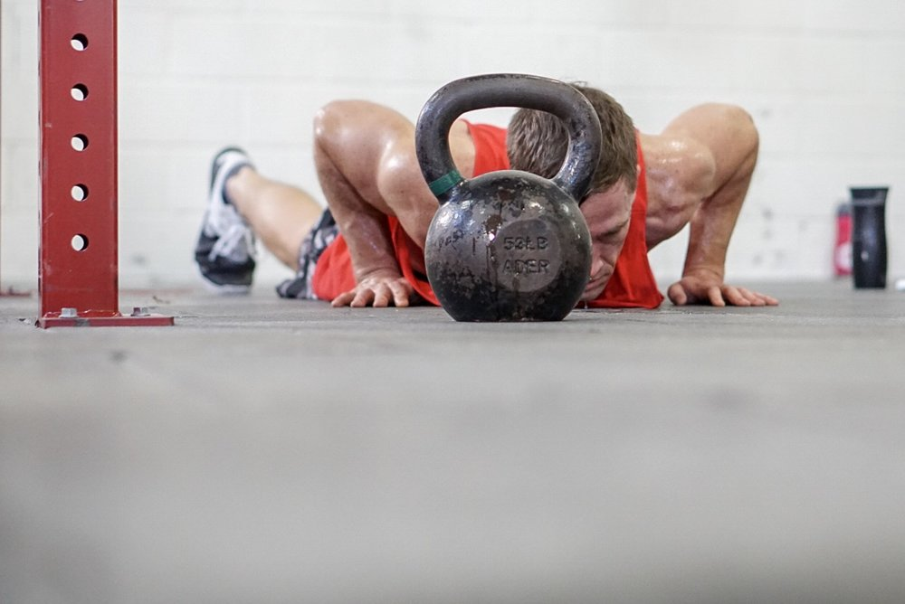 - For Time:1000 Meter Row<then>3 Rounds15 Pull-up25 Burpee50 Kettlebell Swing