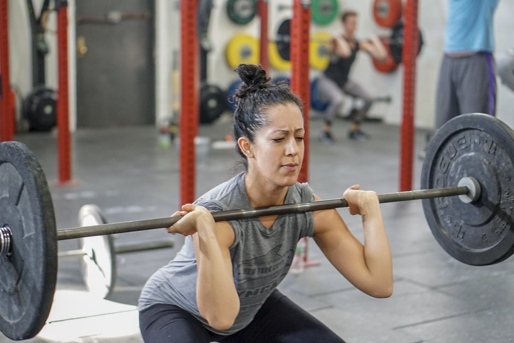- Every 2 Minutes for 24 MinutesUsing one barbell with the same load and starting from the ground:3 Clean and Jerk5 Back Squat*pick a weight you can complete 3 touch and go clean and jerk and can receive barbell in back rack from jerk