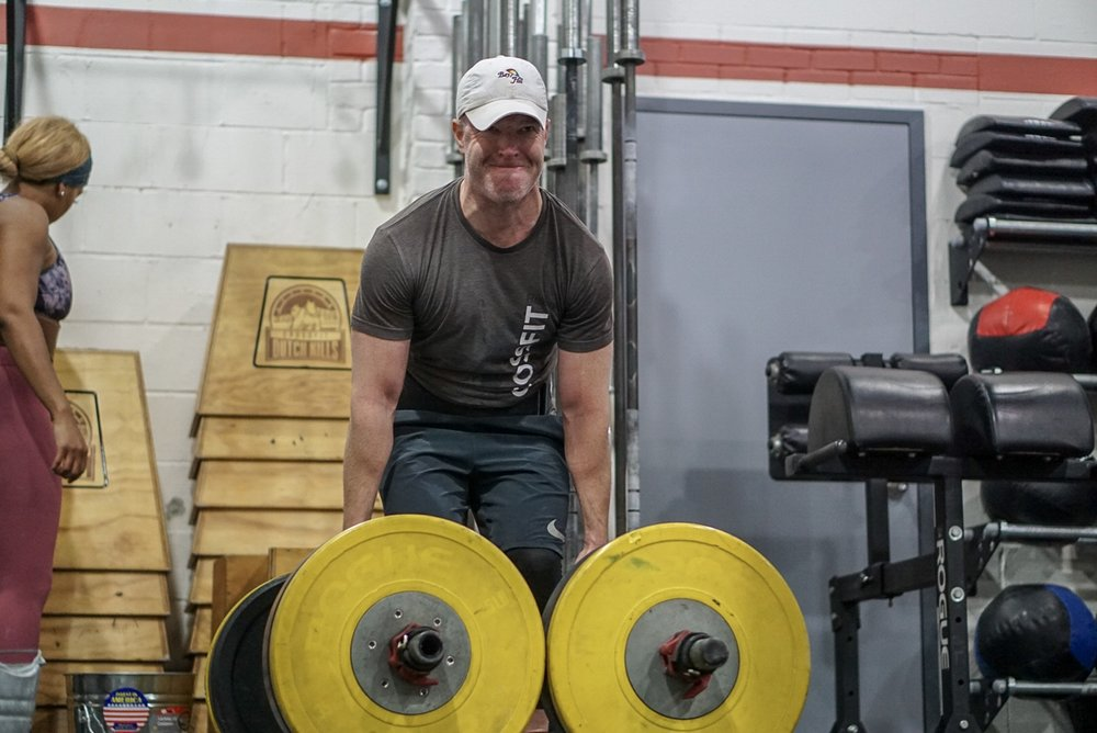 - Every 2 Minutes for 16 Minutes50' Farmer Carry3 Push Jerk
