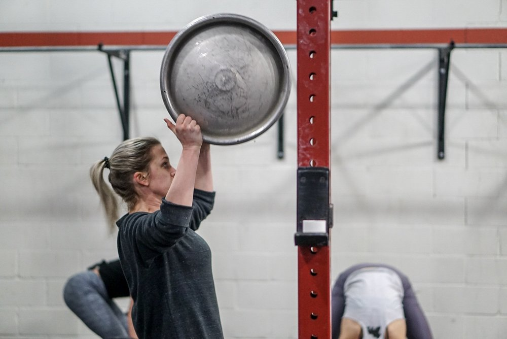 - 30 Minute AMRAPIn teams of 2 with similar strength:8 Axle Deadlifts (AHAP)16 Dumbbell Burpee Box Step-up (50/35)24 Wallball Shots (20/14)*divide work as needed