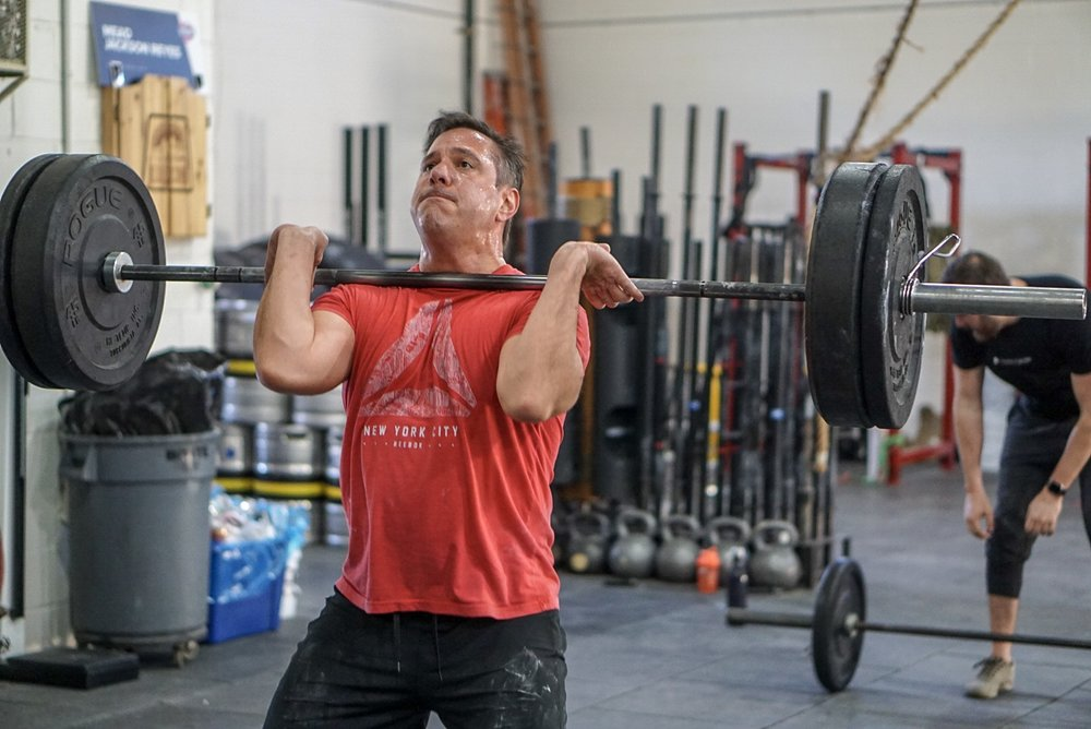 - 35 Minute AMRAP For Quality1 Deadlift (365/275)3 Chest to Bar5 Burpee