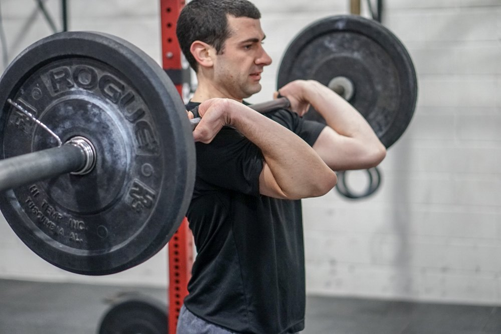 - Skill and Drill: BMU—————————Every 2 Minutes for 24 Minutes2 BMU4 Strict Press (115/75)8 Double Kettlebell Swing (53/35)*barbell starts on ground
