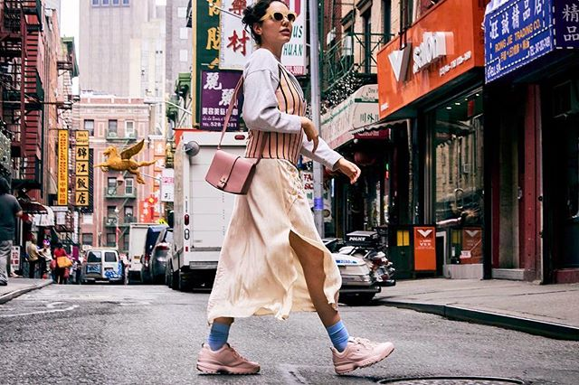 THE STAY BOUTIQUE FASHION EDITORIAL SERIES // Co-Founder @arielakiradjian striking a pose in NYC 🗽Stay Boutique Team for this shoot: Photo by @elenyxo HMU by @marginadennis Styling by @jensenleigh PA @kevin_kuehl #stayboutique