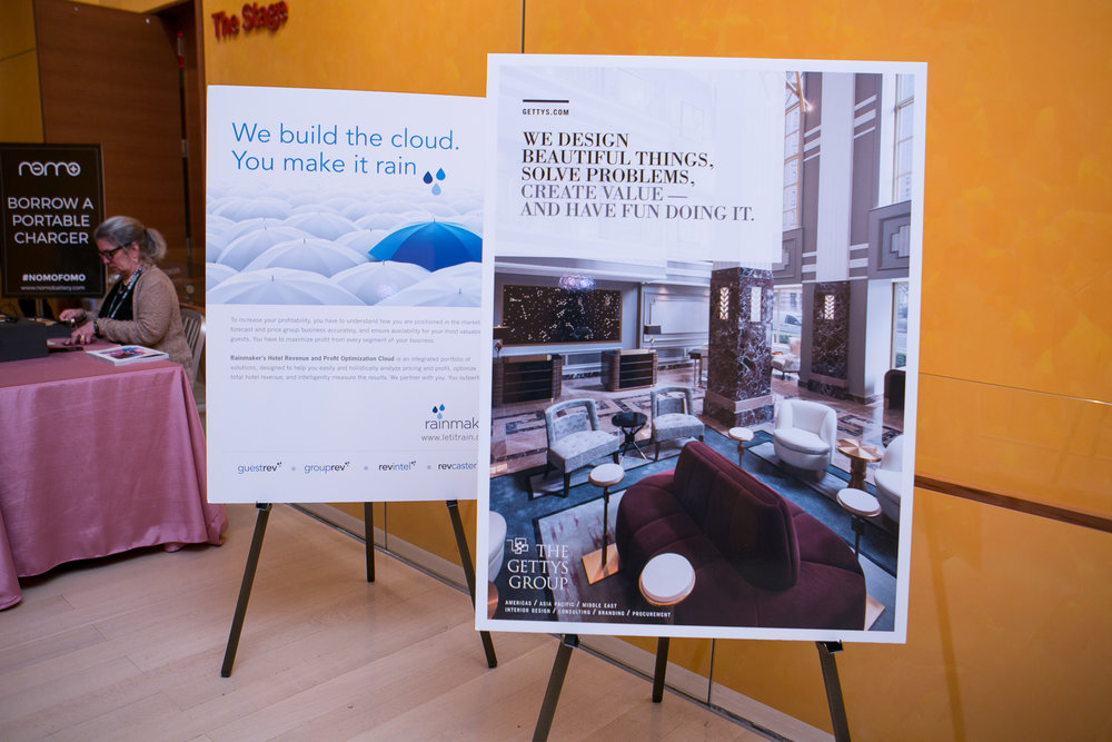 (Left) The Rainmaker Group's Poster at Stay Boutique Live, The Investment Edition