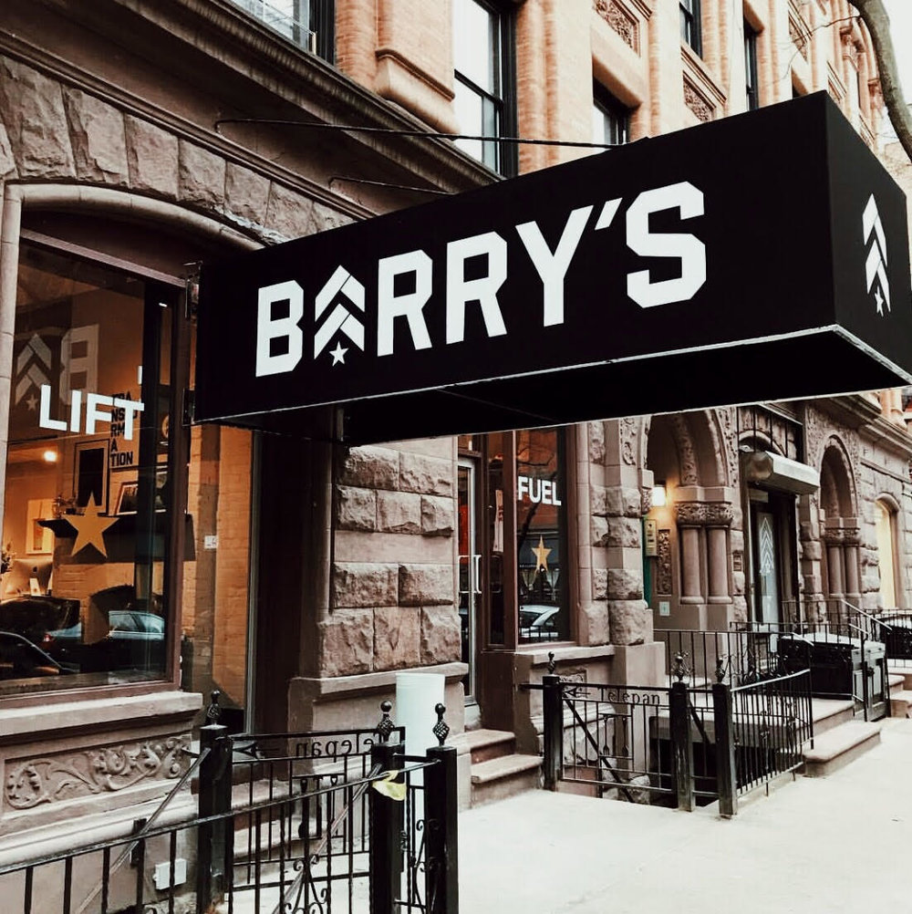Barry's Bootcamp-Stay Boutique Live