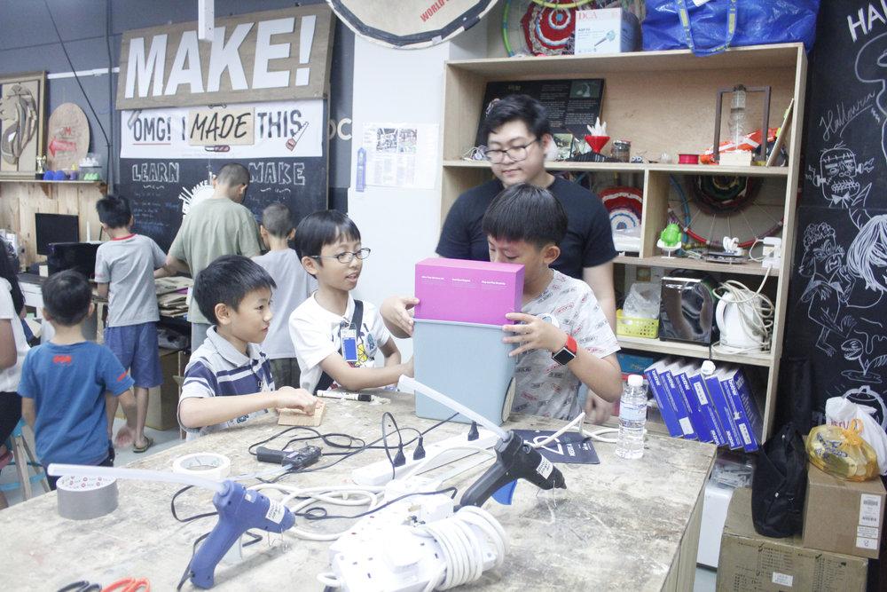 #ItTakesAnIsland Kids' Hackathon