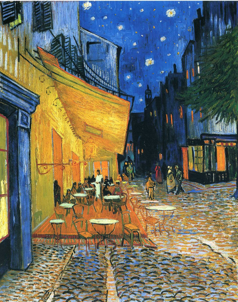 95  The Cafe Terrace on the Place du Forum, Arles, at Night.jpg