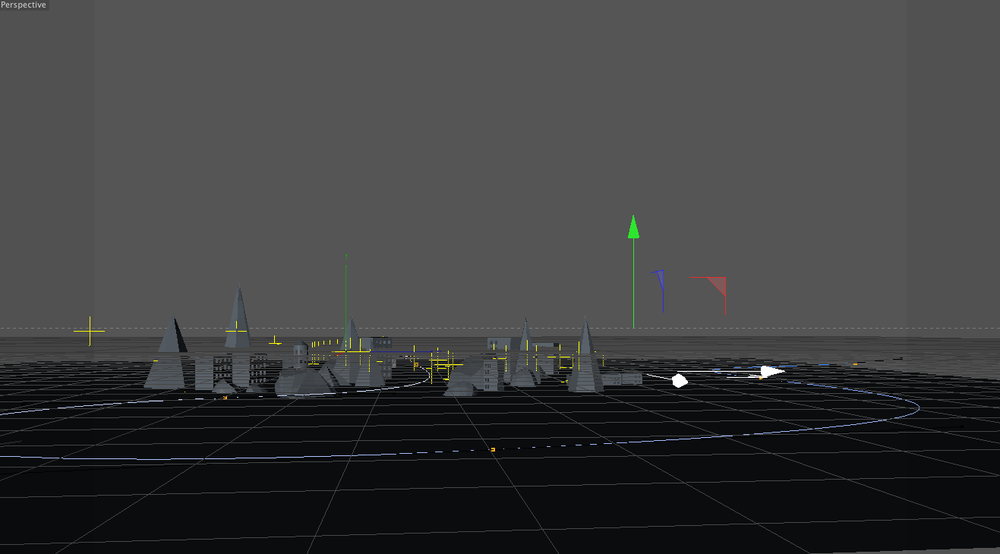 Paper City Early Wireframe