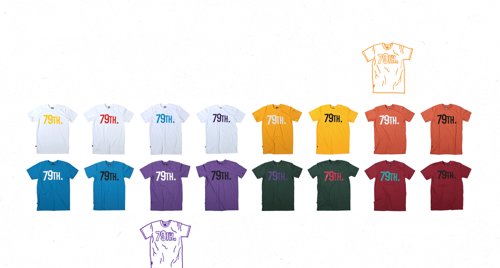 79th. Classic T-shirts 2006-2012