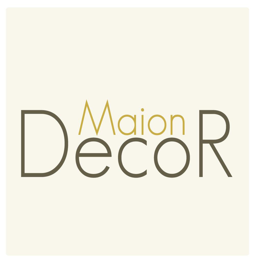 Marina started a decor line named Maion Decor