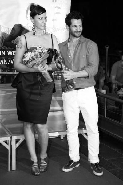 She won the best designer award on Fashion Week Zagreb, with BodyAmr