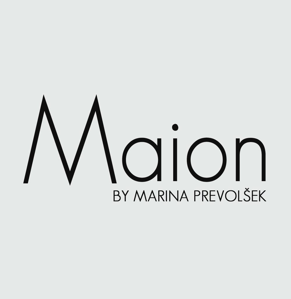 Marina founded a fashion brand named Maion