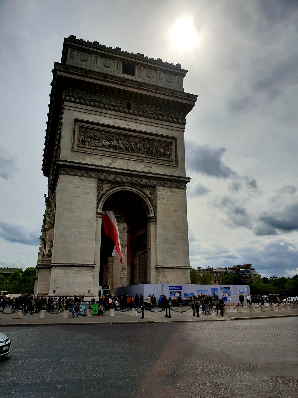 Arc of Triumph, Des Champs-Elysees